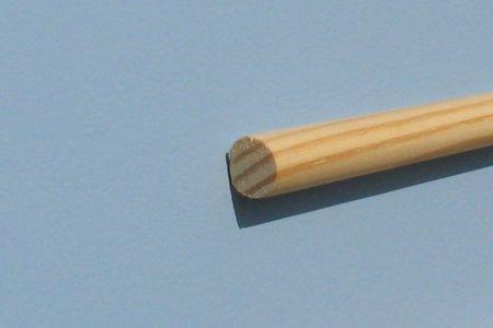 Apvalus profilis, pušis. 10mm