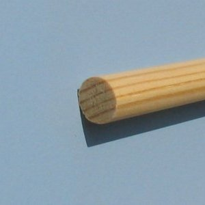 Apvalus profilis, pušis. 12mm