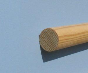 Apvalus profilis, pušis. 20mm