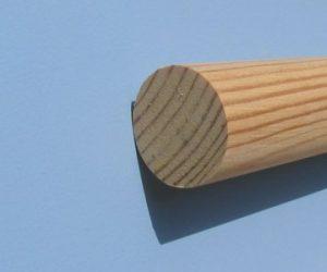 Apvalus profilis, pušis. 32mm